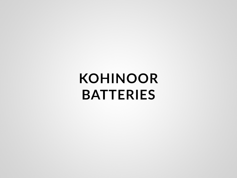 Kohinoor Batteries